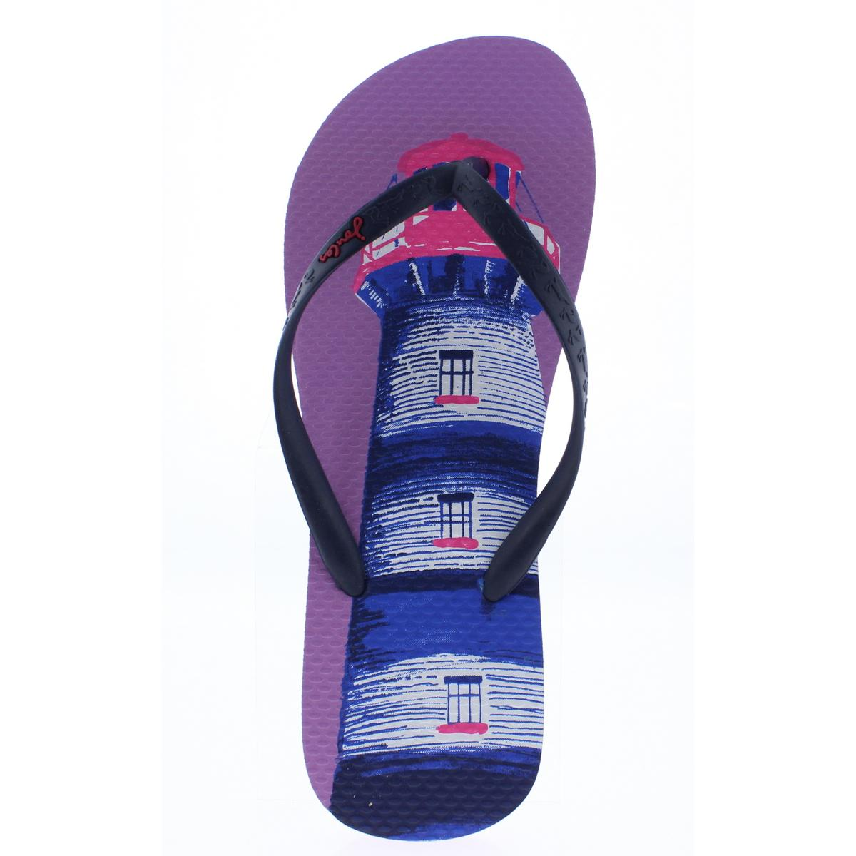 Joules-Womens-Sandy-Thong-Textured-Sandals-Flip-Flops-Shoes-BHFO-0205 thumbnail 8