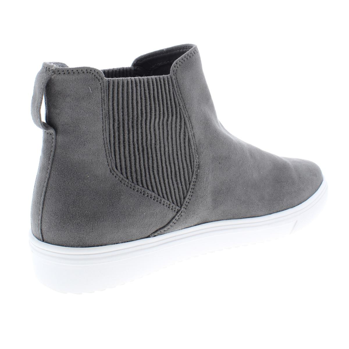 83c549c9edc Steven By Steve Madden Womens Coal Faux Suede Fashion Sneakers Shoes ...