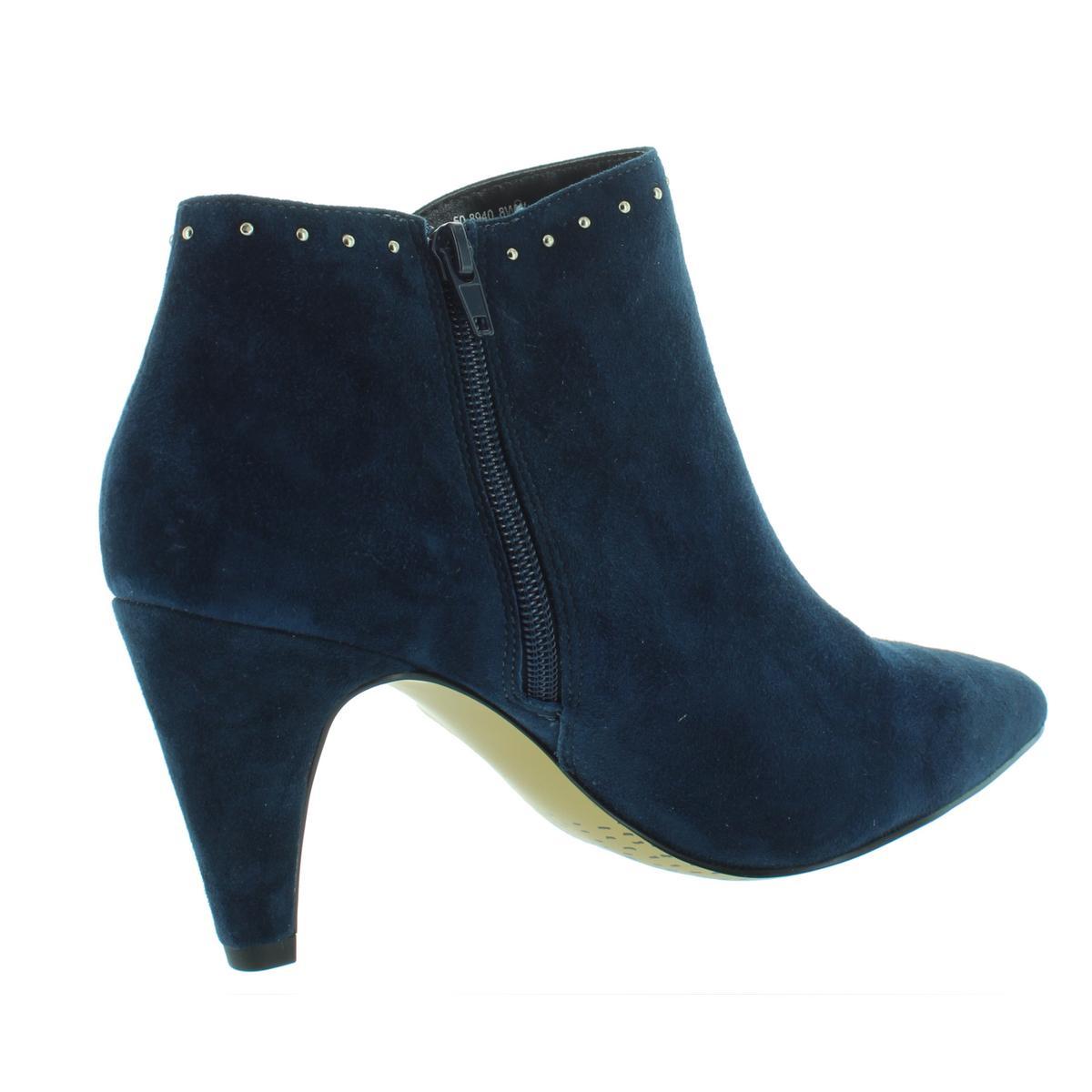 Bella Vita Damenschuhe Delfina Studded Suede BHFO Almond Toe Booties Schuhes BHFO Suede 0827 2d1909