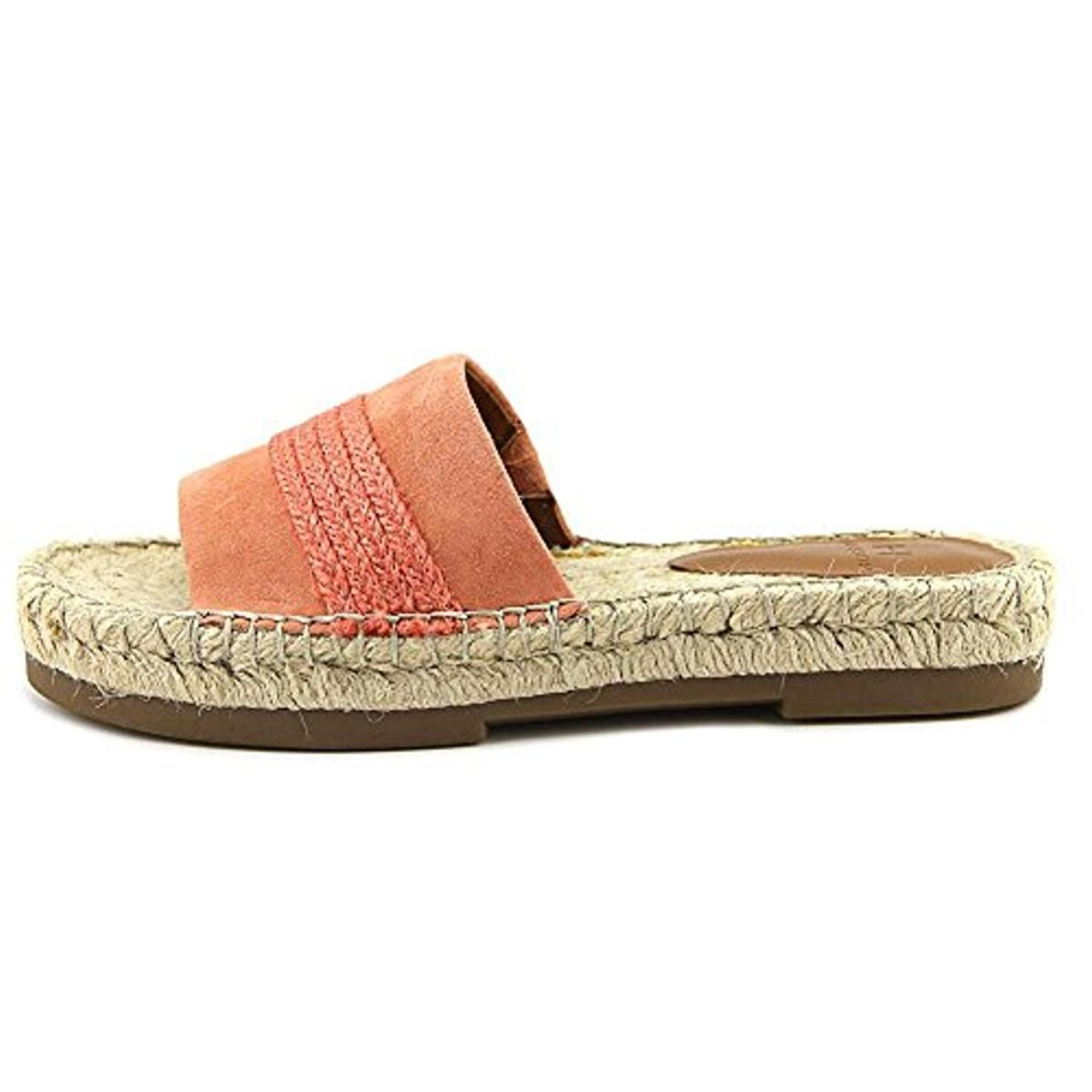 H-Halston-Womens-Betty-Suede-Braided-Casual-Flat-Sandals-Shoes-BHFO-0701 thumbnail 15