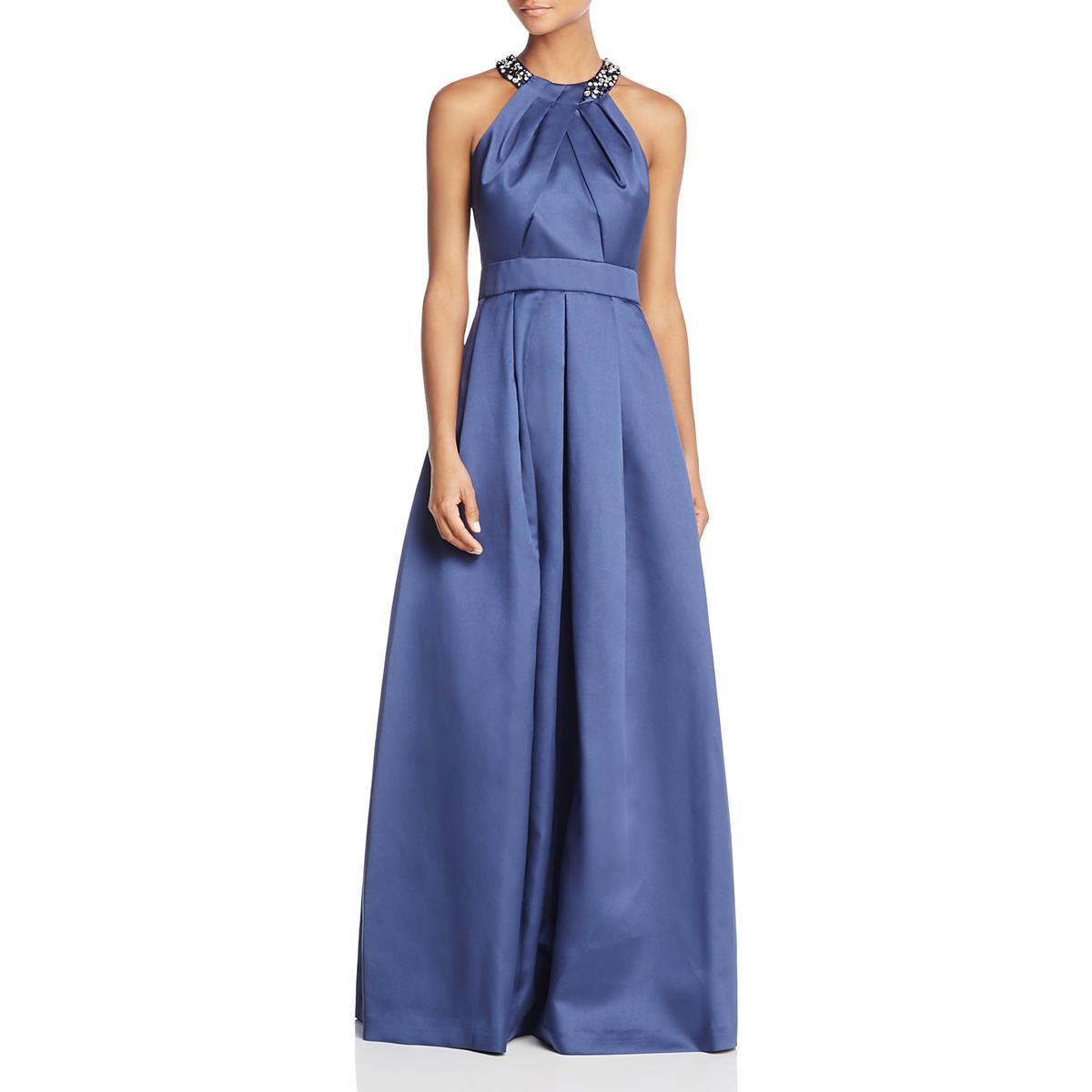 Eliza J Womens Sleeveless Full-Length Evening Dress Gown BHFO 4390 ...