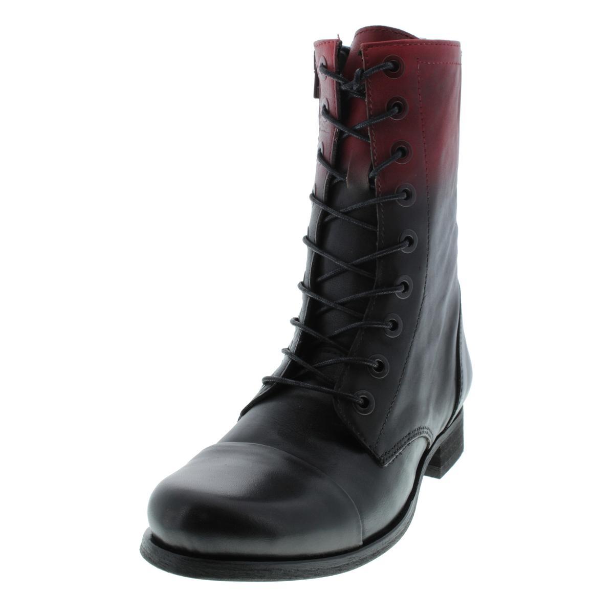 Diesel 2089 Womens The Wild Land Arthik Leather Combat ...