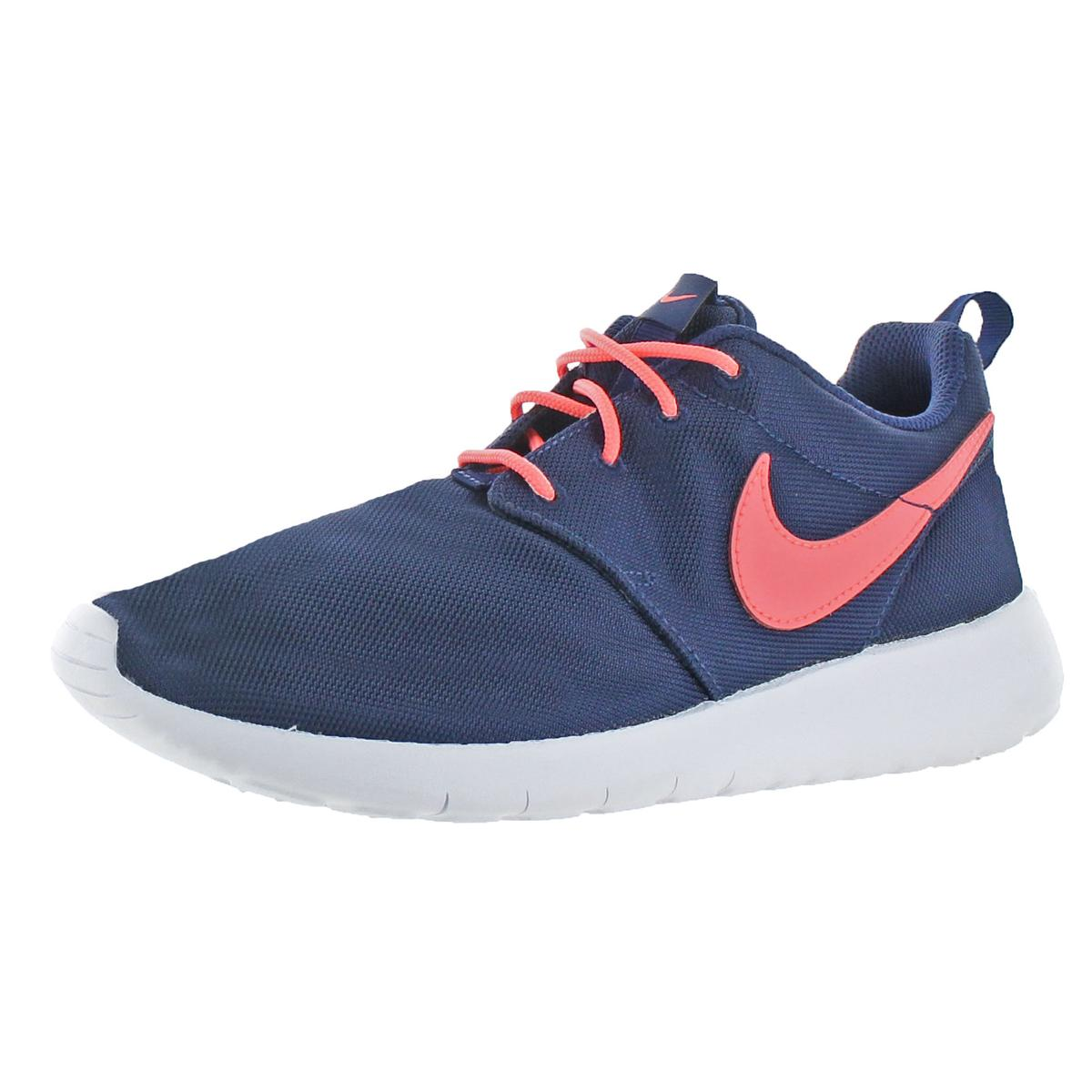 b2856468f685 Details about Nike Girls Roshe One Navy Running Shoes 6.5 Medium (B