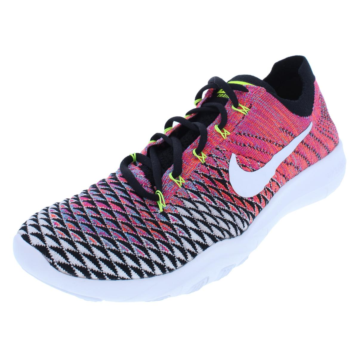 73a119851822 Details about Nike Womens Free TR Flyknit 2 Pink Running Shoes 6 Medium  (B
