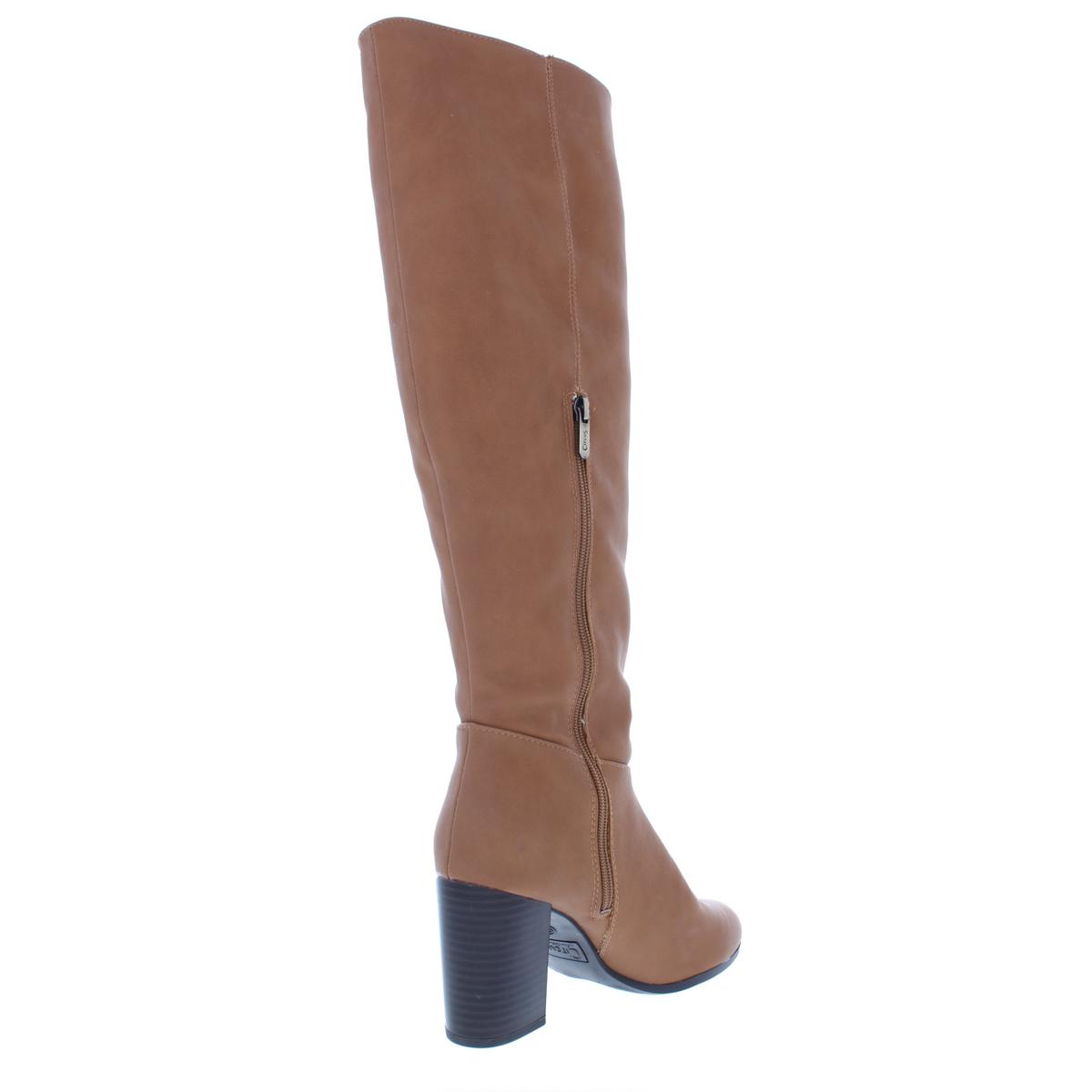 b1a410d23c96f ... Picture 3 of 3. Circus by Sam Edelman Womens Sibley Brown Riding Boots  10 Medium ...