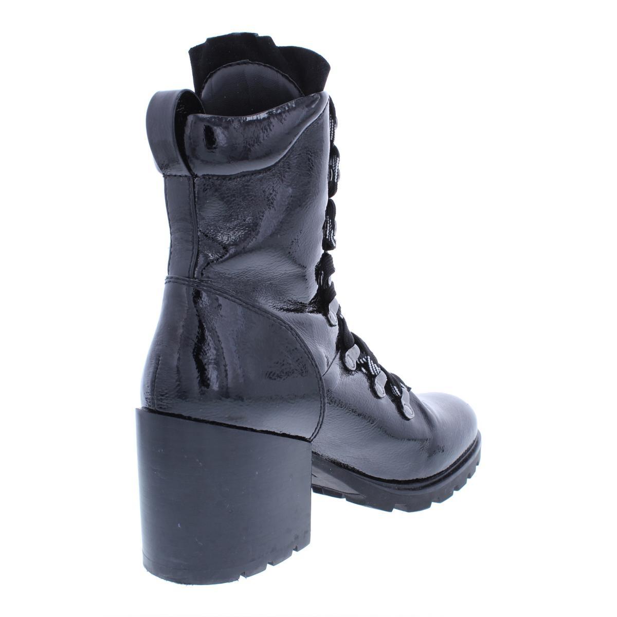 310e573849411 Kendall + Kylie Womens Spencer4 Black Combat Boots 10 Medium (B,M ...