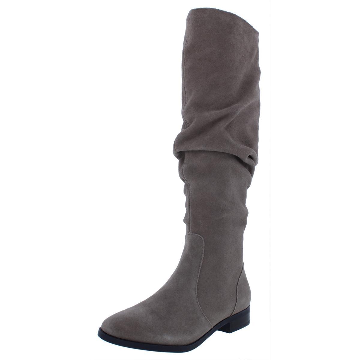 Steve Madden Womens Beacon Taupe Over-The-Knee Boots 5 Medium (B,M) BHFO 5002