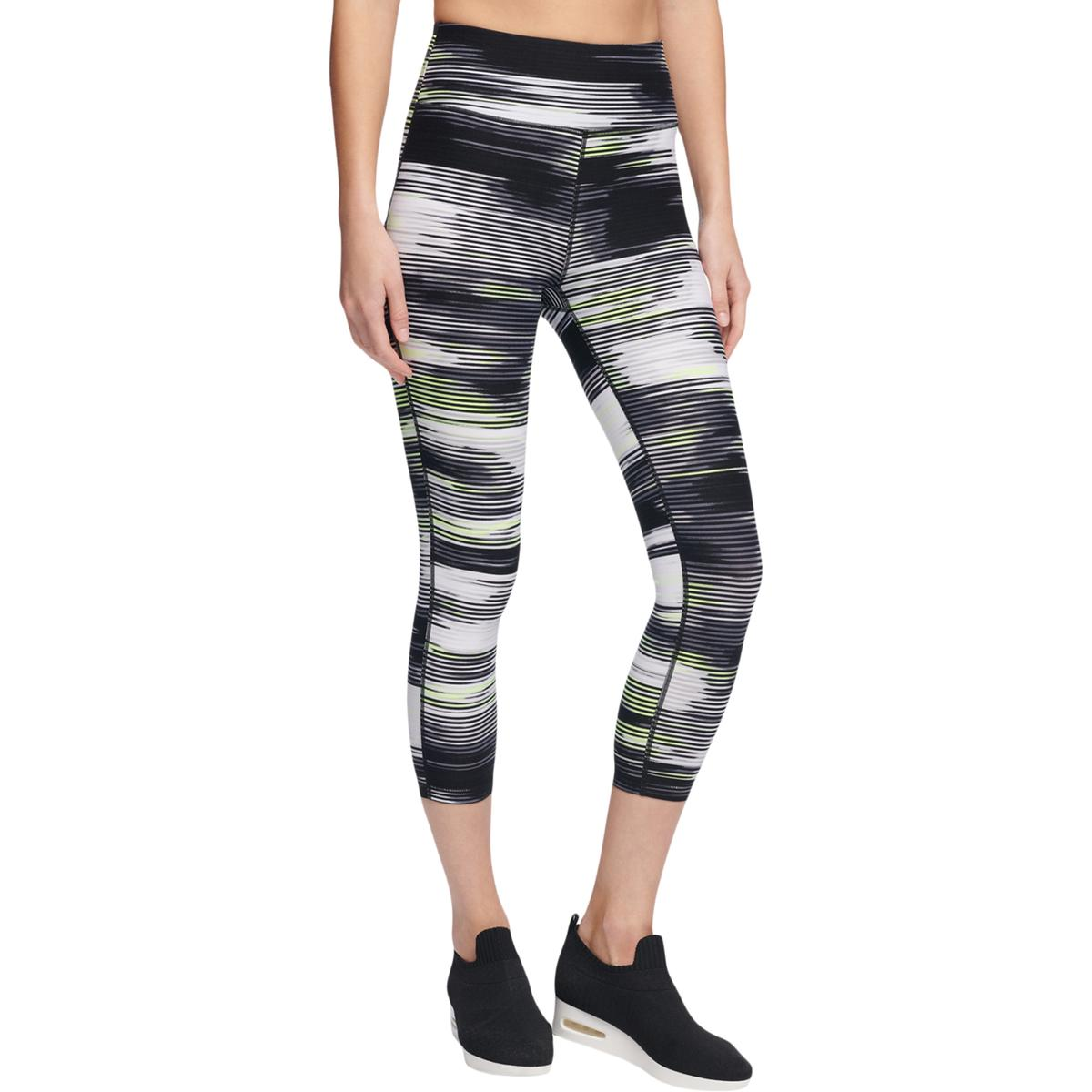 375d8fd2d6a97 Details about DKNY Womens Yoga Fitness Running Athletic Leggings BHFO 1543