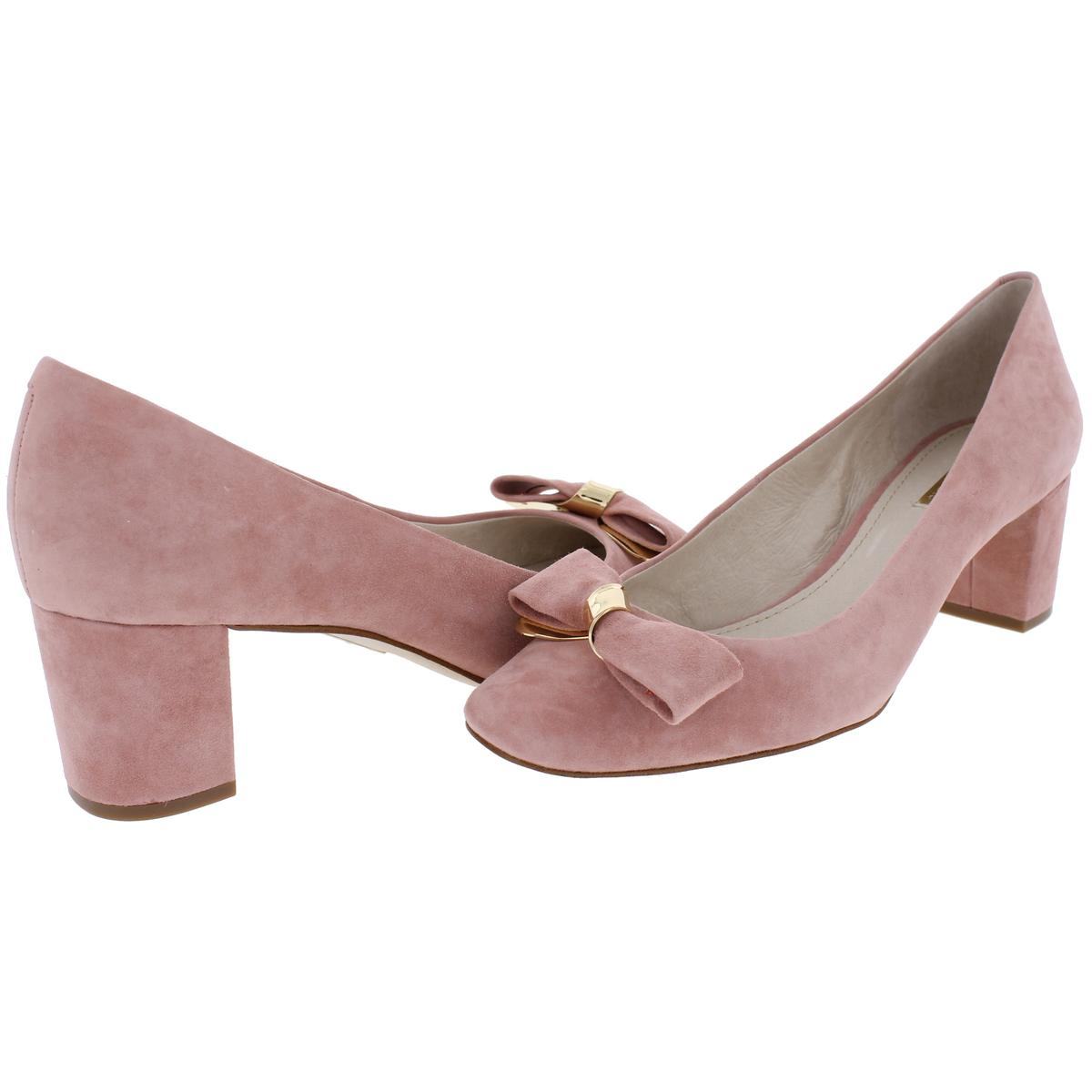 Louise Et Cie Damenschuhe Lilla BHFO Bow Pumps CoveROT Block Dress Heels Schuhes BHFO Lilla 0634 417468