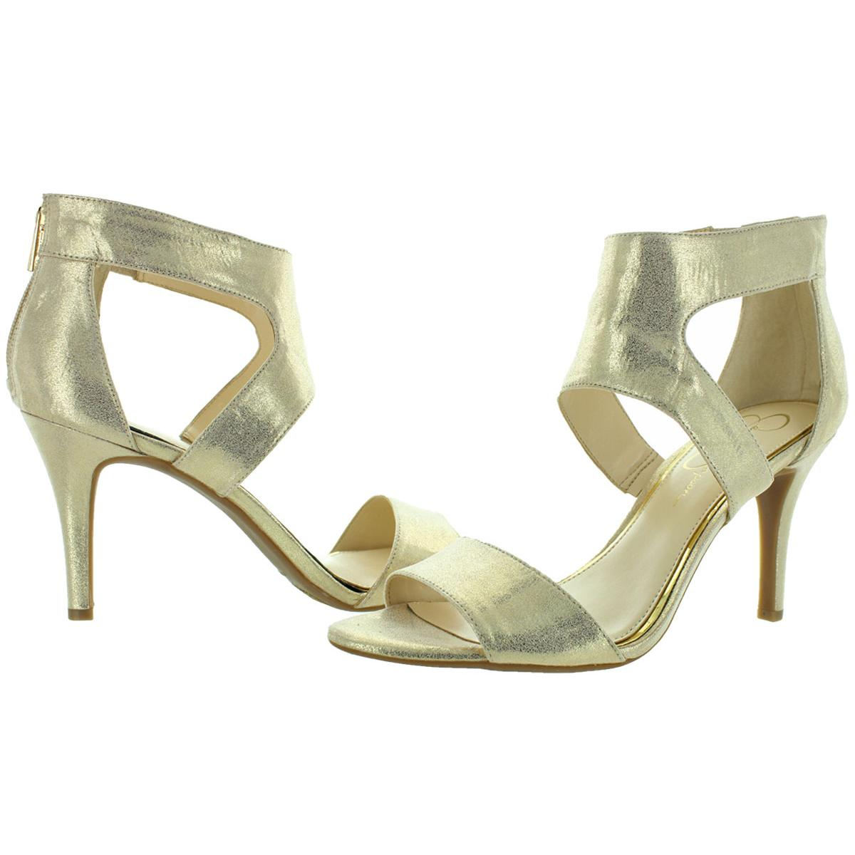 Jessica-Simpson-Mekos-Women-039-s-Open-Toe-Dress-Sandals-Heels thumbnail 4