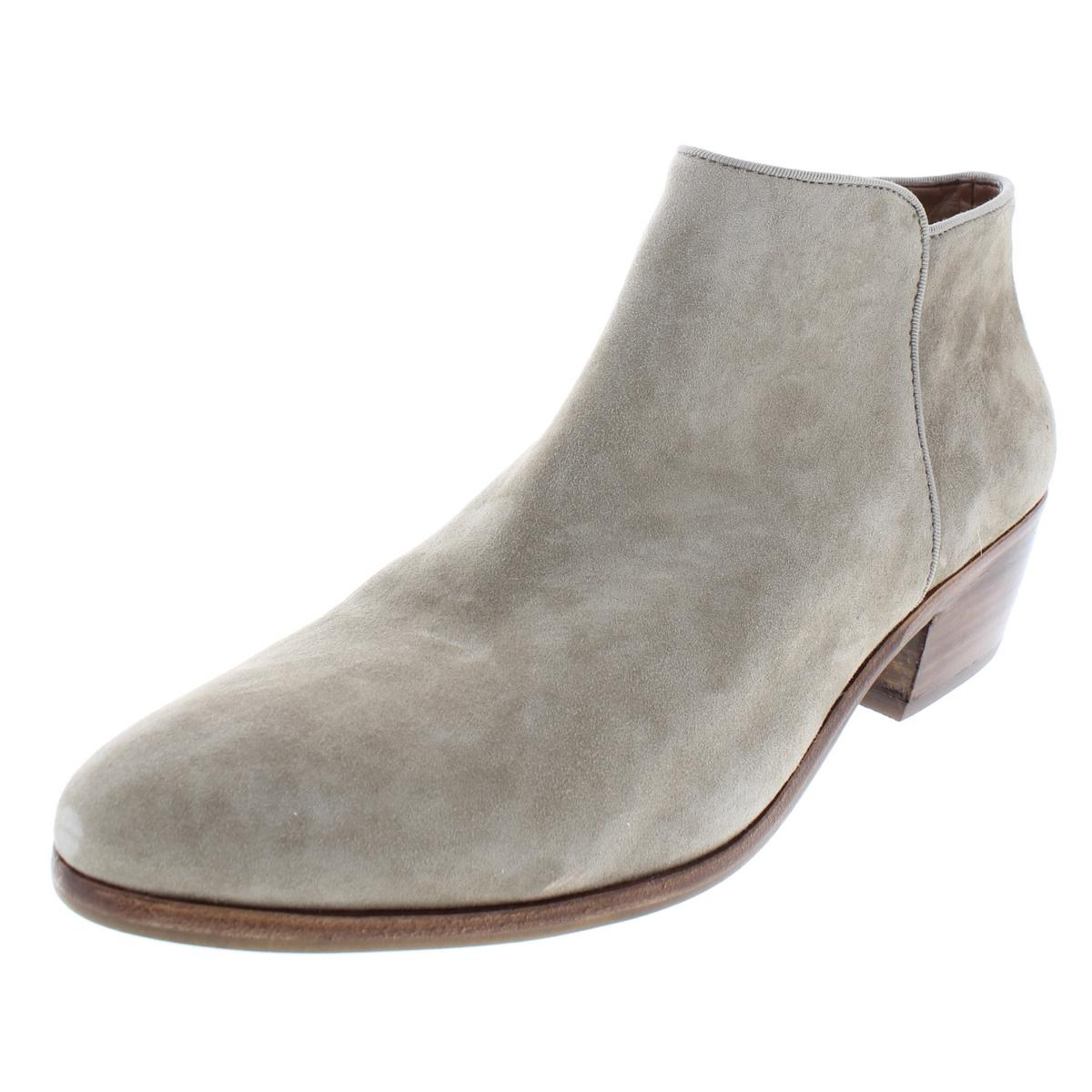 3a52d863e4694e Details about Sam Edelman Womens Petty Taupe Suede Booties Shoes 10 Medium  (B