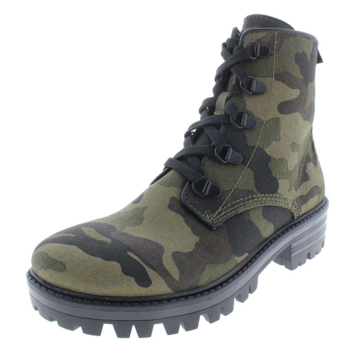 6e41f0aefd349 Details about Kendall + Kylie Womens Epic3 Ankle Camouflage Combat Boots  Shoes BHFO 9479