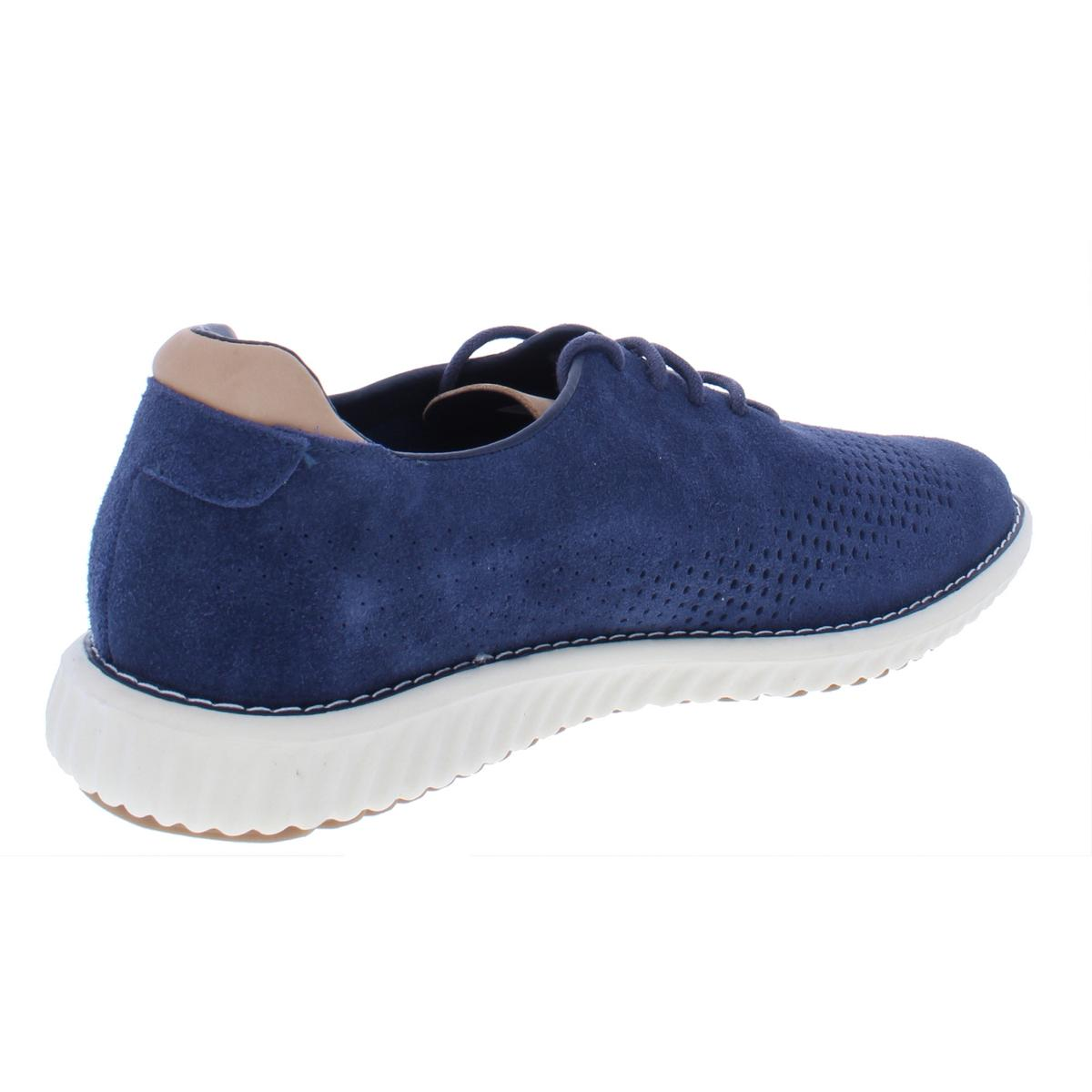 Steve-Madden-Mens-Vaelen-Suede-Perforated-Lace-Up-Oxfords-Sneakers-BHFO-9910 thumbnail 6