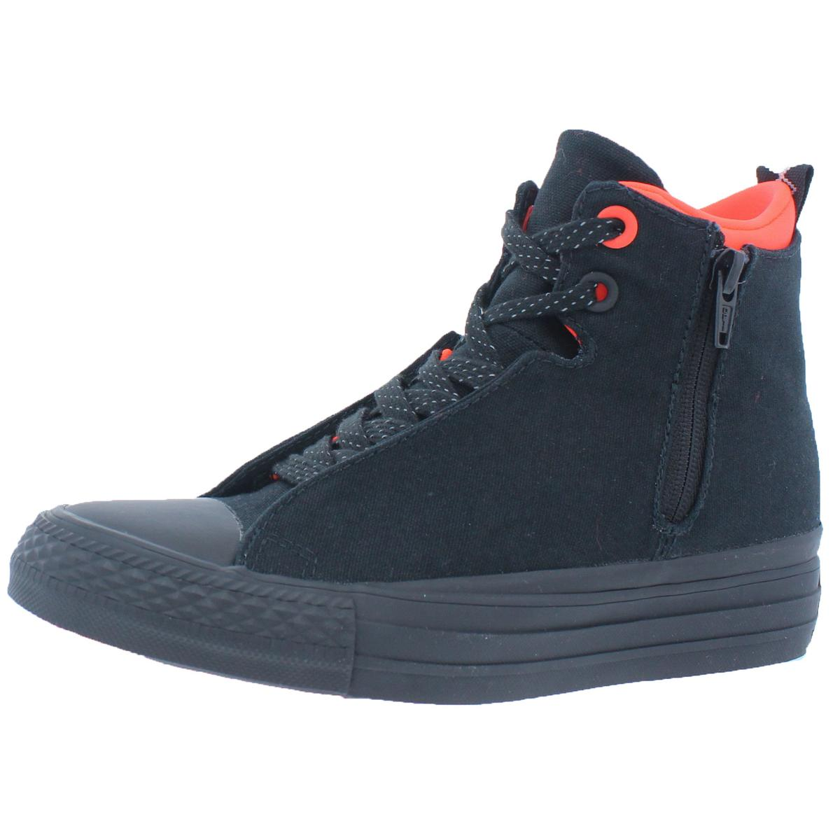 d82ce3b3911e Converse Womens Chuck Taylor All Star Selene Shield Black Fashion ...