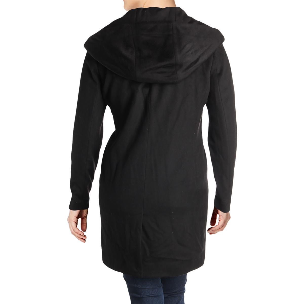 Karl-Lagerfeld-Paris-Womens-Winter-Wool-Blend-Midi-Coat-Outerwear-BHFO-6449 thumbnail 4