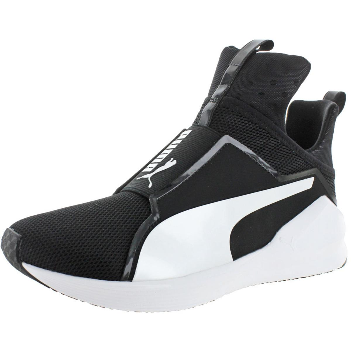 9eaedd803 Details about Puma Womens Fierce Core Black Fashion Sneakers Shoes 10  Medium (B