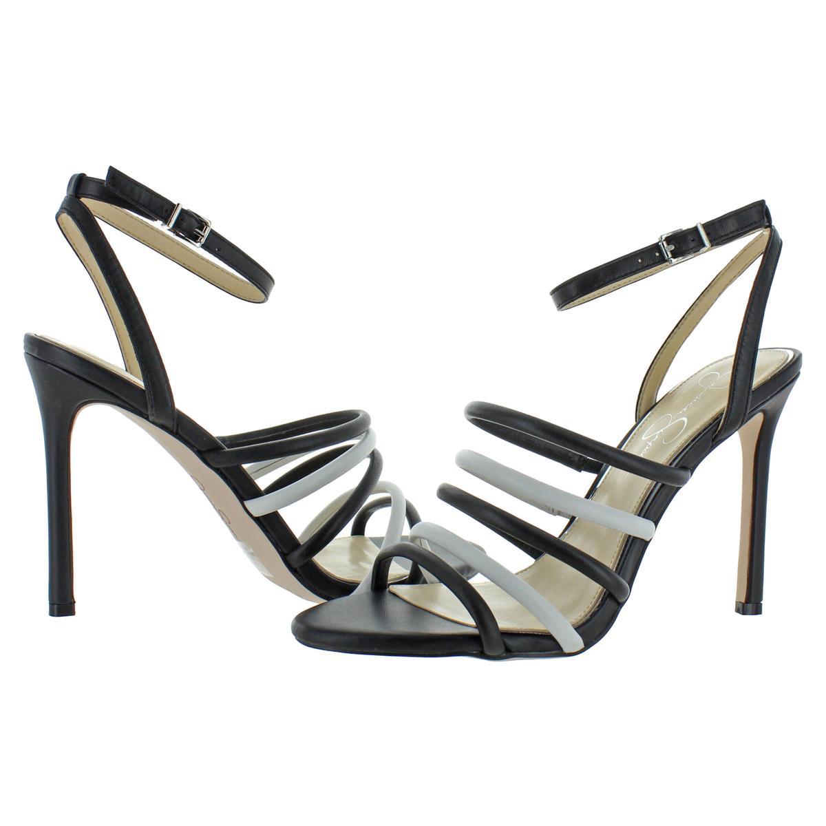 Jessica-Simpson-Femme-Joselle-a-Lanieres-Talon-Haut-Robe-Sandales-Chaussures-BHFO-7879 miniature 6