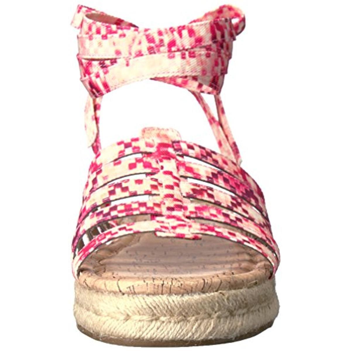 Circus-by-Sam-Edelman-Womens-Ariel-Ankle-Wrap-Cork-Espadrilles-Sandals-BHFO-0567 thumbnail 8
