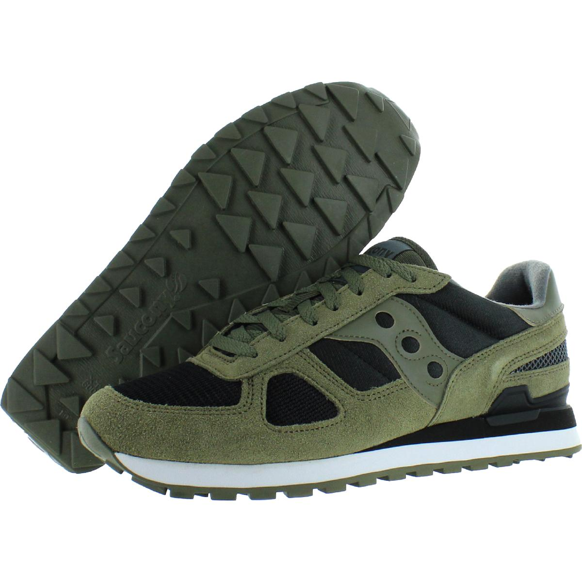 Saucony-Mens-Shadow-Original-Trainers-Suede-Comfort-Sneakers-Shoes-BHFO-0431 miniatuur 28