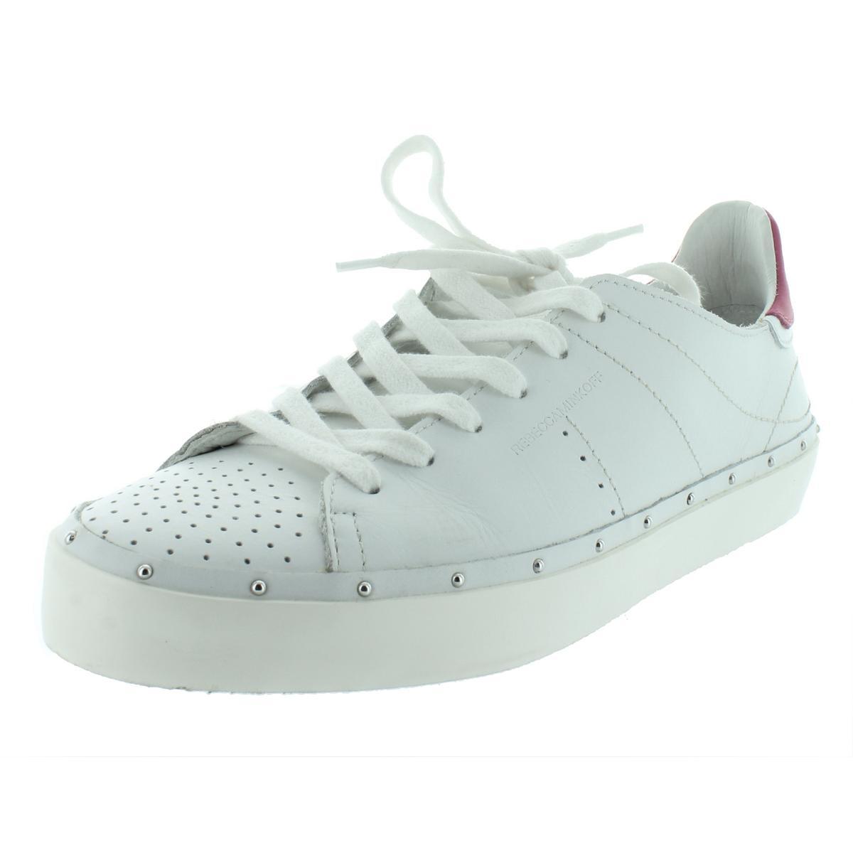 Details about Rebecca Minkoff Womens Michell White Fashion Sneakers 9  Medium (B 662e432eea2