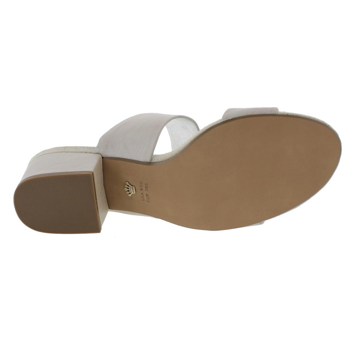 Nina-Womens-Vansi-Strappy-Block-Heel-Open-Toe-Heels-Sandals-BHFO-4278 thumbnail 8