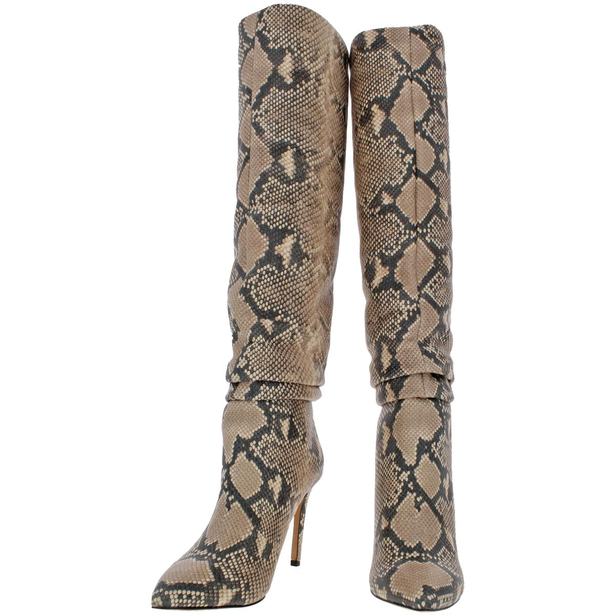 Vince Camuto Women/'s Kashiana Leather Slouchy Knee-High Tall Boots