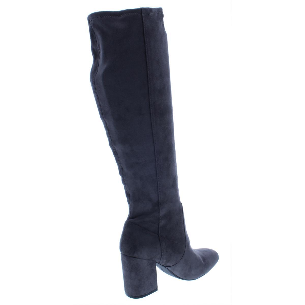 Seven-Dials-Womens-Britney-Solid-Square-Toe-Dress-Boots-Heels-BHFO-6188 miniatura 6
