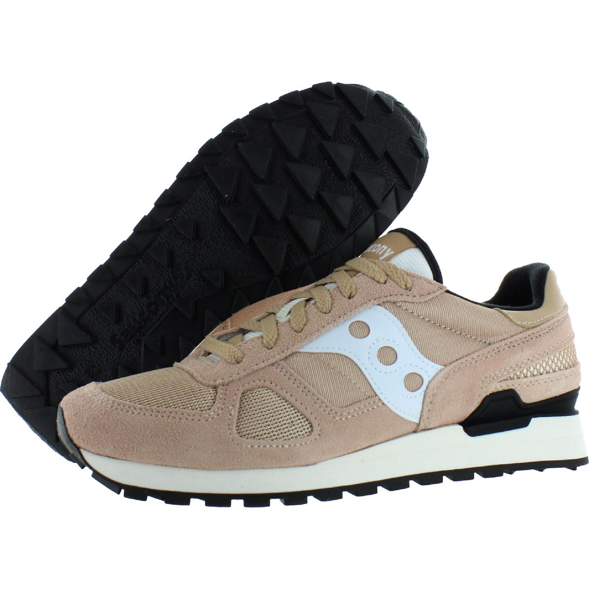 Saucony-Mens-Shadow-Original-Trainers-Suede-Comfort-Sneakers-Shoes-BHFO-0431 miniatuur 33