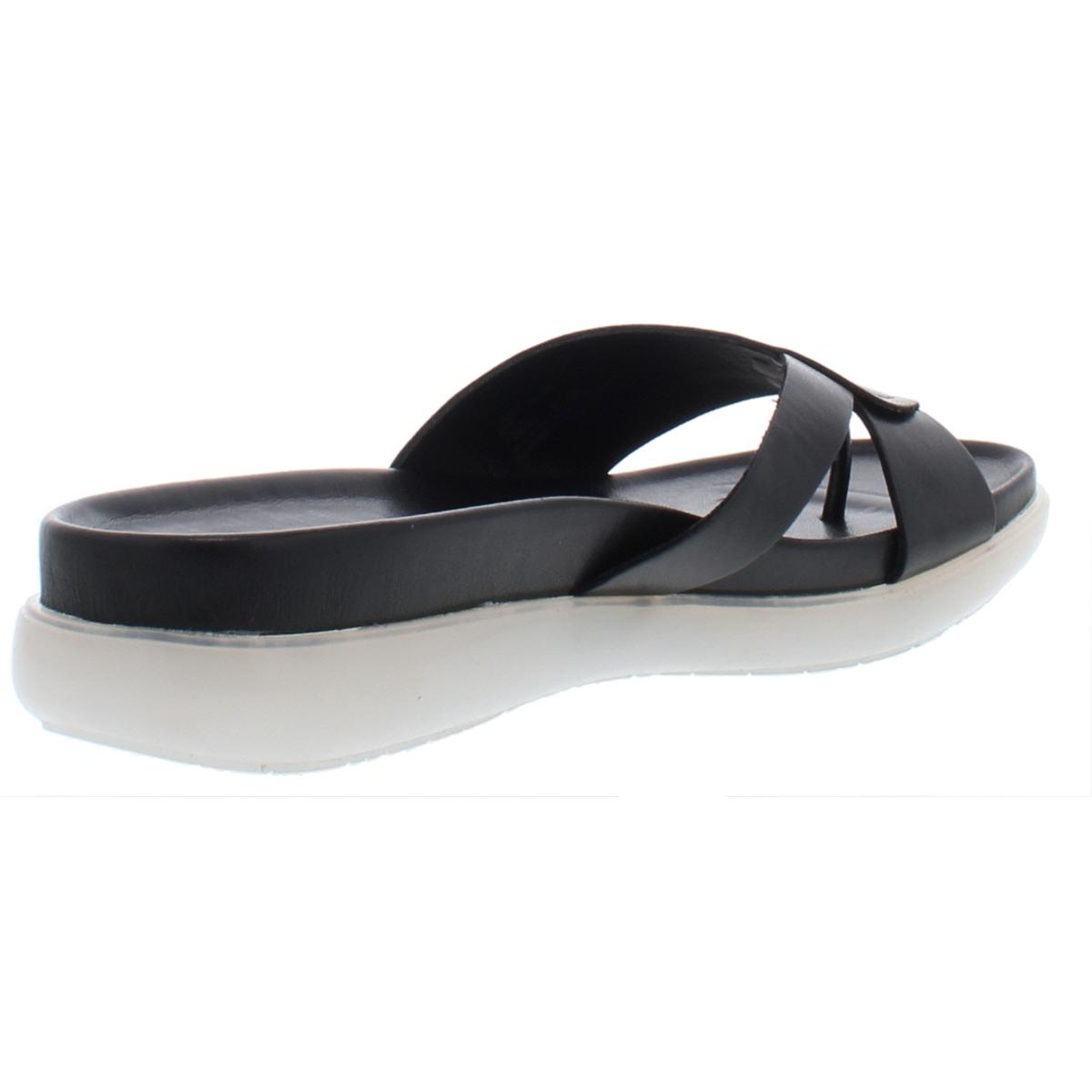 Donald-J-Pliner-Womens-Hollie-Metallic-Platform-Slide-Sandals-Shoes-BHFO-6210 thumbnail 4