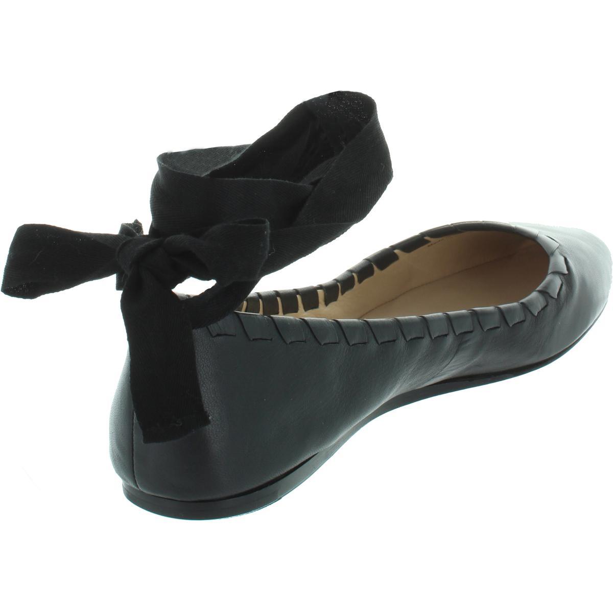Via-Spiga-Womens-Baylie-Leather-Round-Toe-Ballet-Flats-Shoes-BHFO-6888 thumbnail 4
