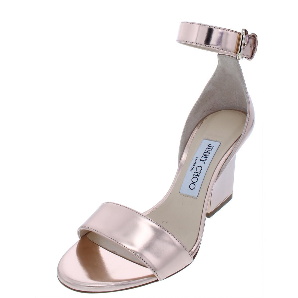 Jimmy m Womens Shoes Choo Dress Mediumb Gold 5 Edina 36 Sandals 0nPk8Ow