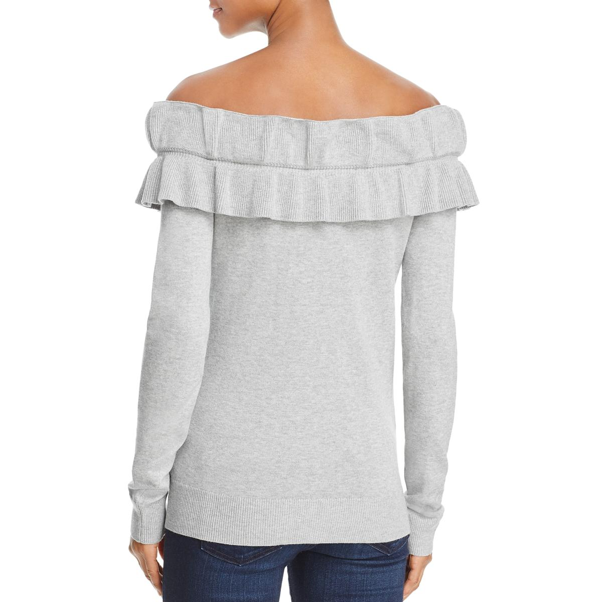 9327f657cd320 Endless Rose Womens Knit Off-the-Shoulder Pullover Sweater Top BHFO ...