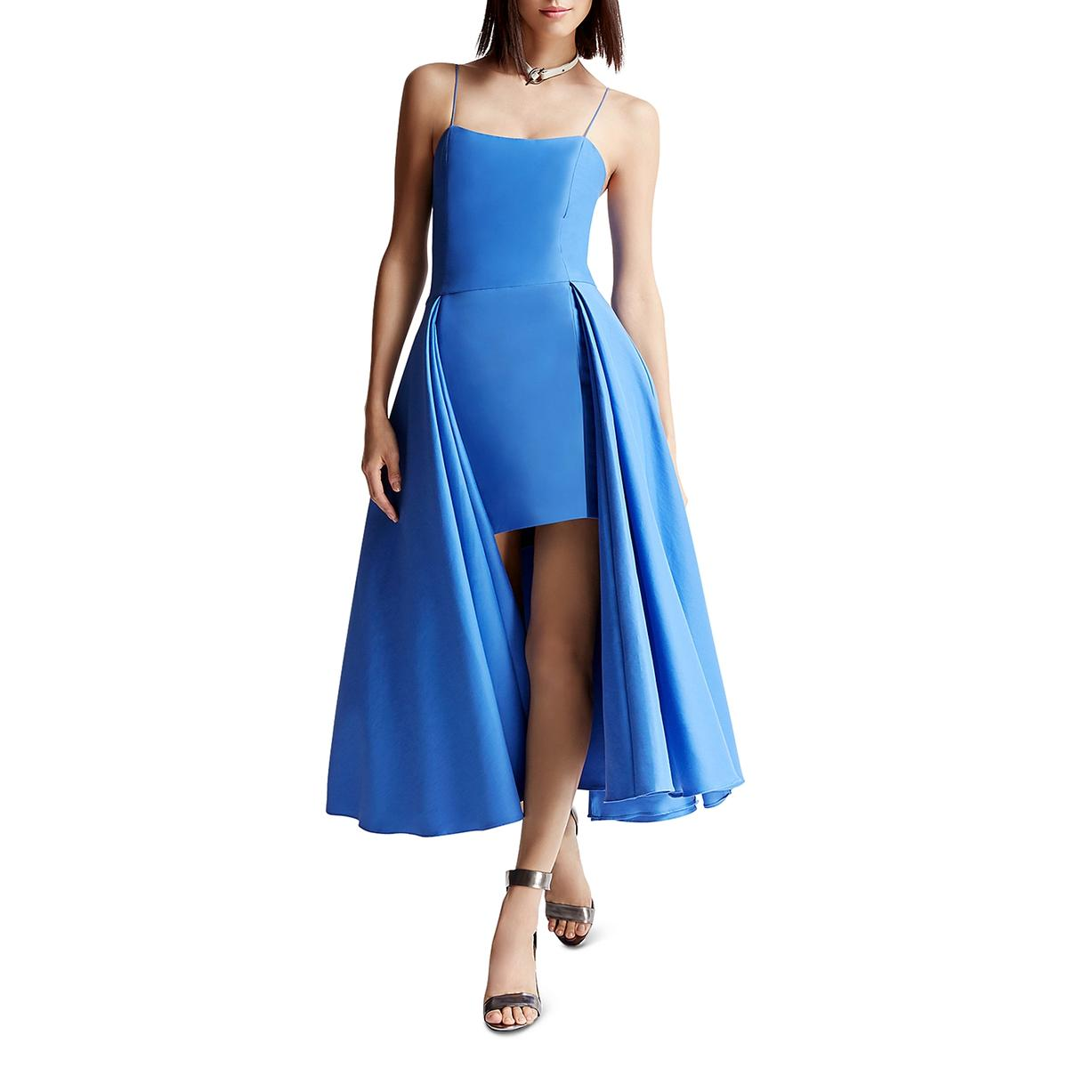 Halston Heritage Womens Fit /& Flare Party Cocktail Mini Dress BHFO 1368