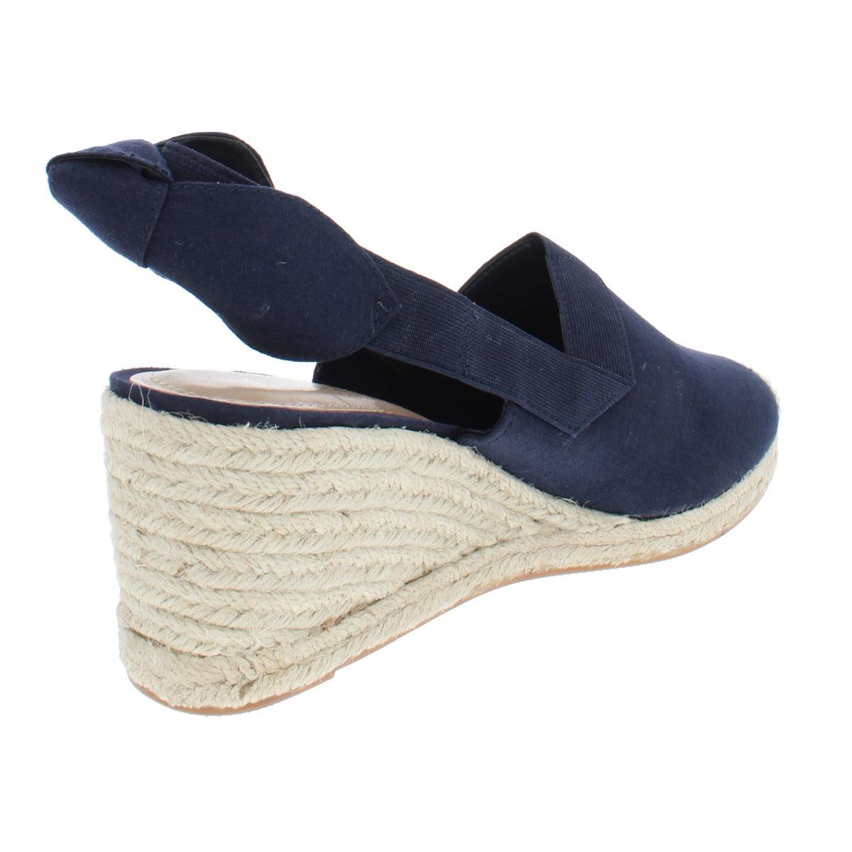 Lauren-Ralph-Lauren-Womens-Helma-Textured-Sandals-Espadrilles-Wedges-BHFO-6966 thumbnail 4