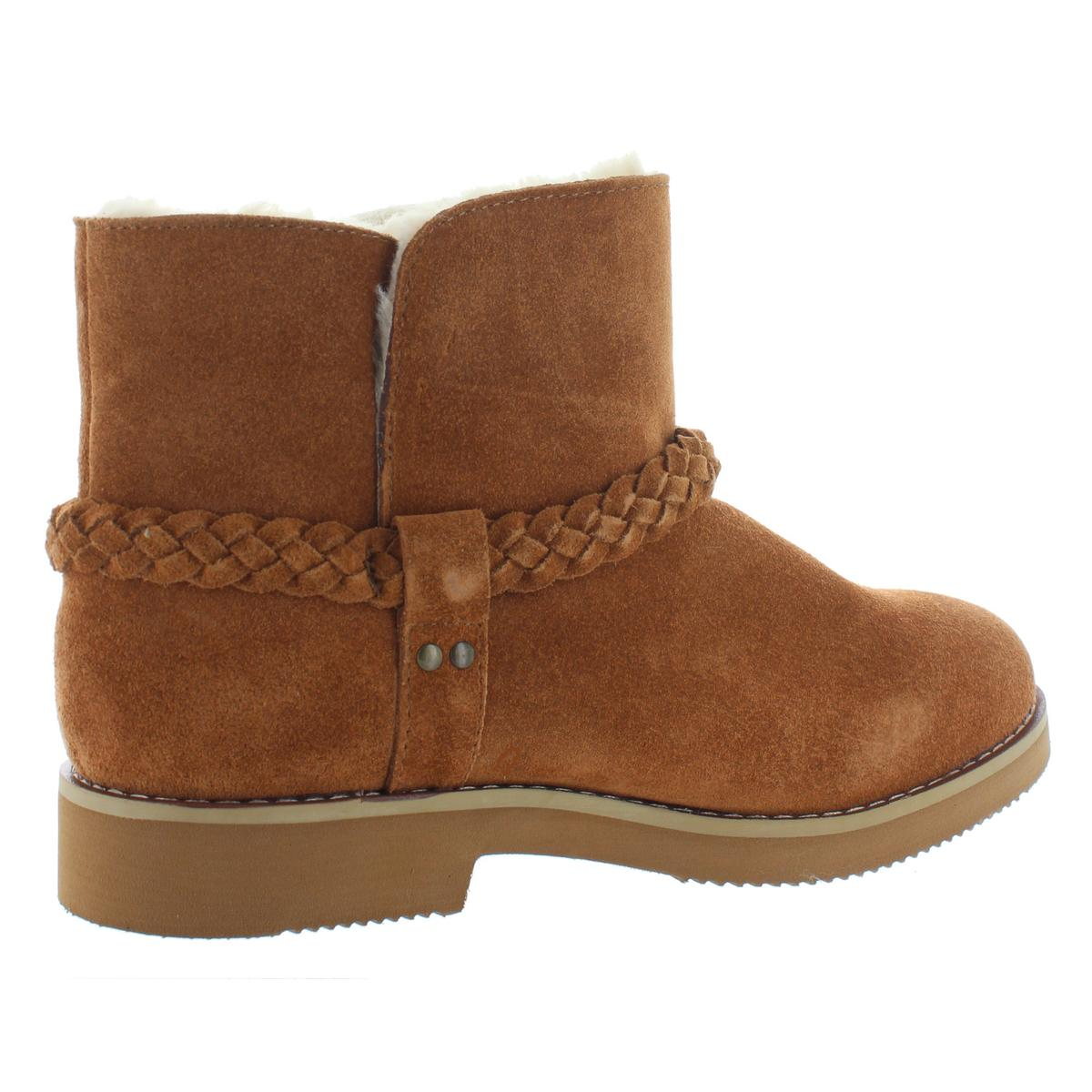 Womens Kaii Suede Faux Fur Lined Winter Booties Shoes BHFO 8281 Style /& Co