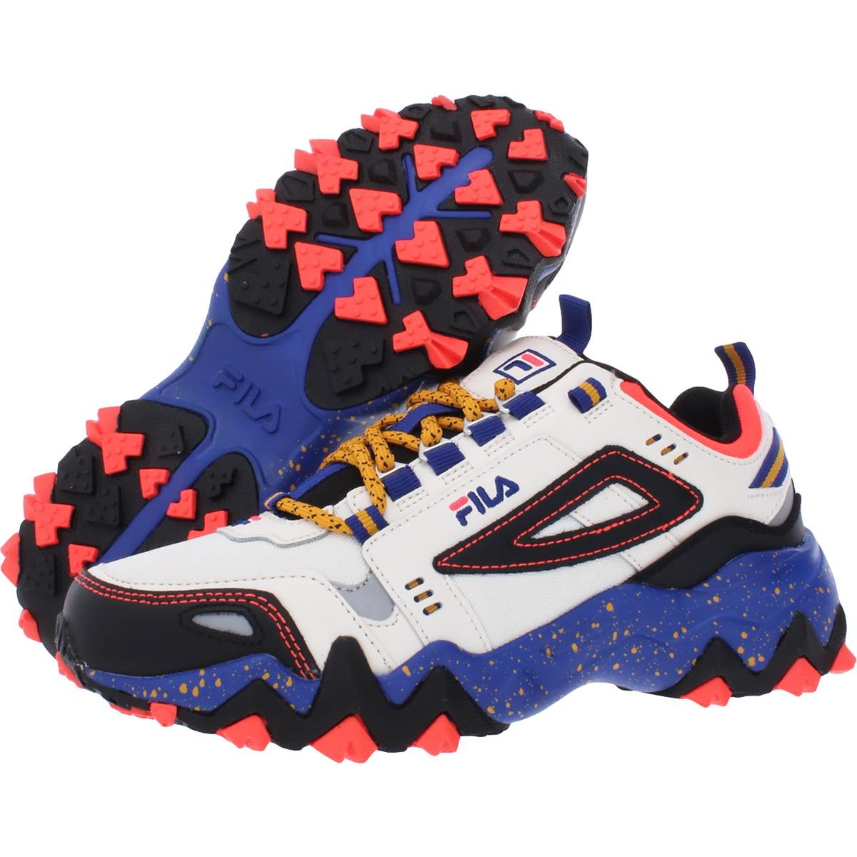 thumbnail 3 - Fila Women's Oakmont Leather Retro-Inspired Chunky Athletic Hiking Trail Sneaker