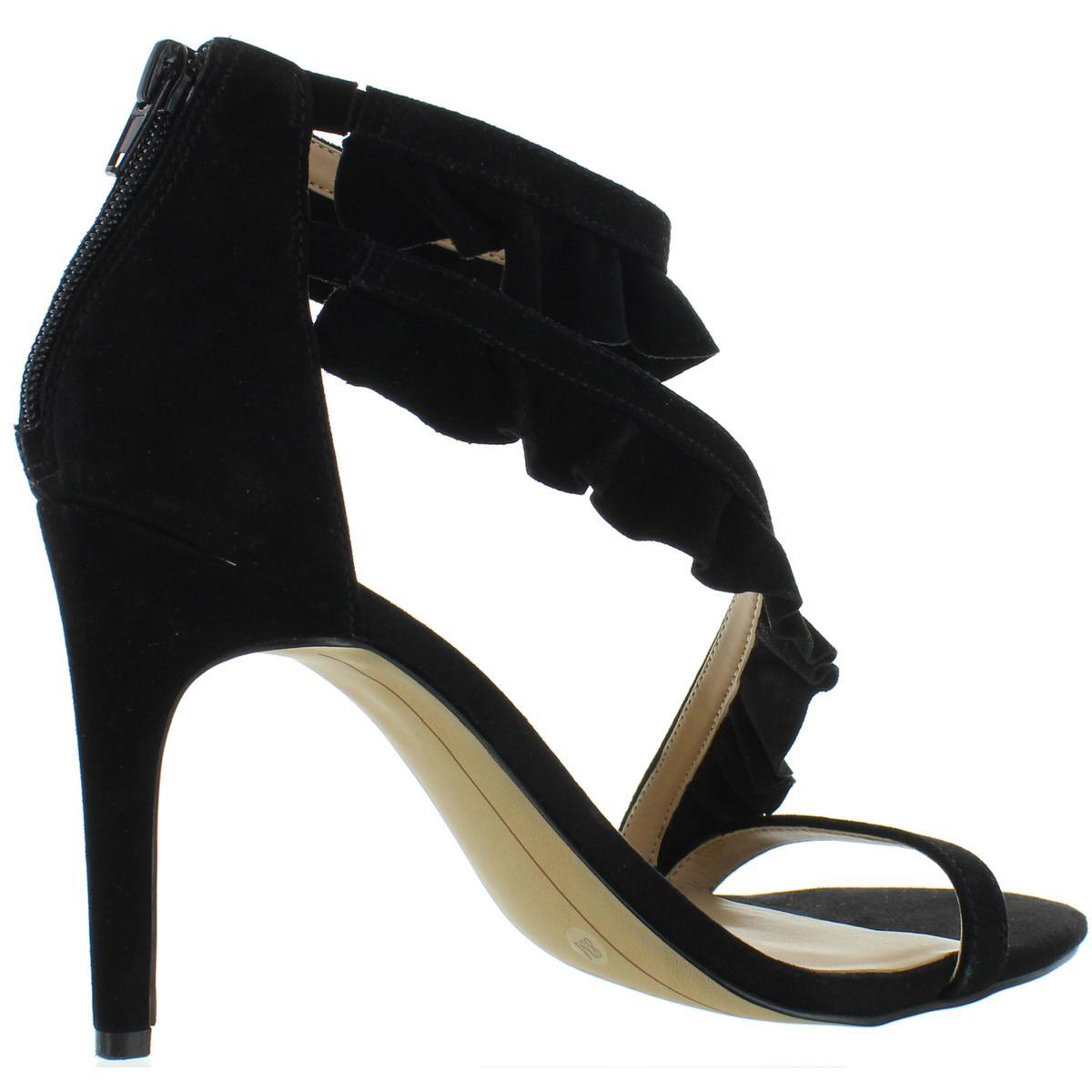 INC-Womens-Rezza-Suede-Heels-Open-Toe-Dress-Sandals-Shoes-BHFO-7122 thumbnail 4