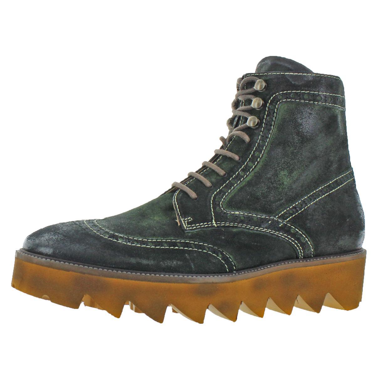 Zapatos De Vestir Donald J. Pliner Mens Myle Cepillado De Ante Con Cordones botas BHFO 0695