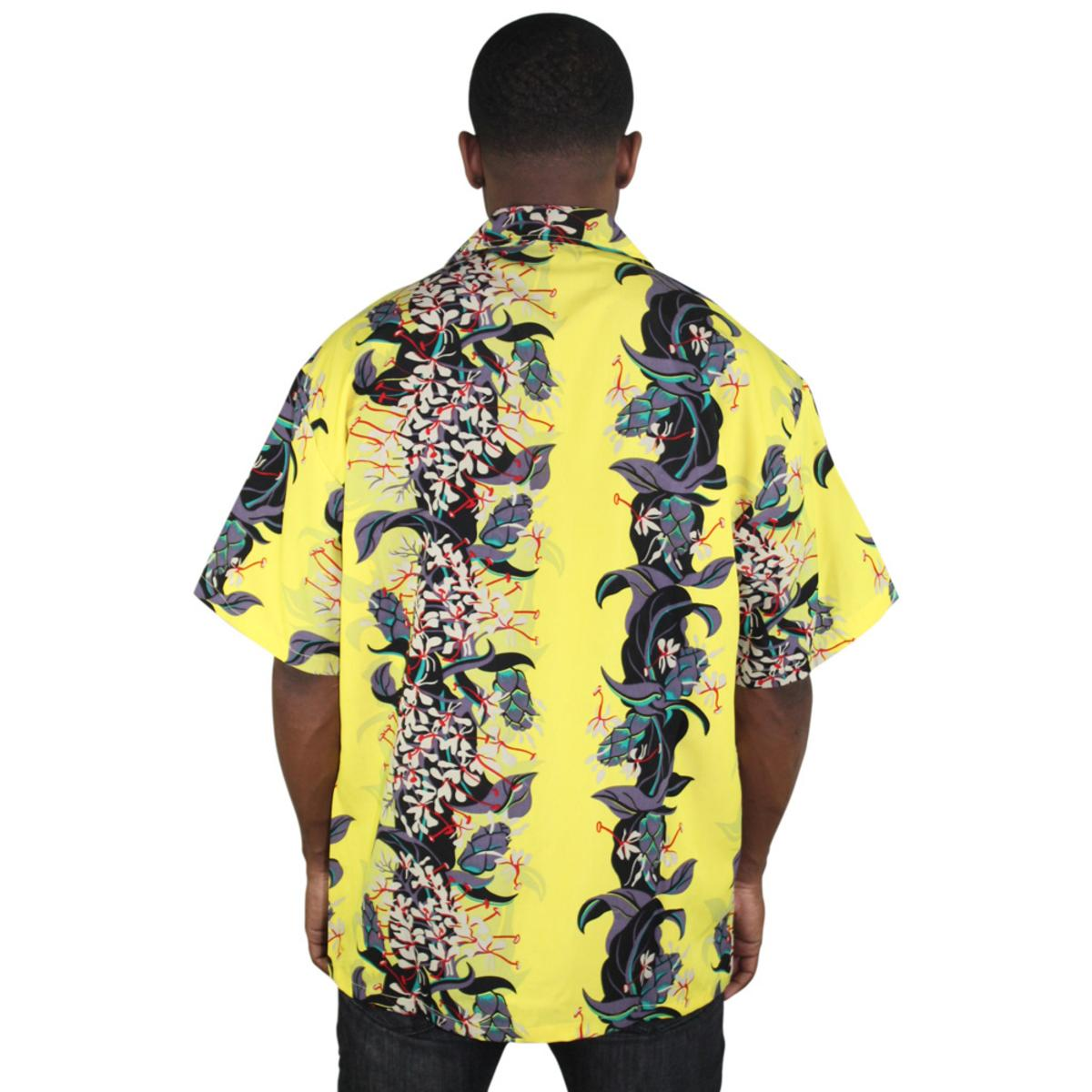 Moda-Essentials-Assorted-Men-039-s-Short-Sleeve-Button-Up-Shirt