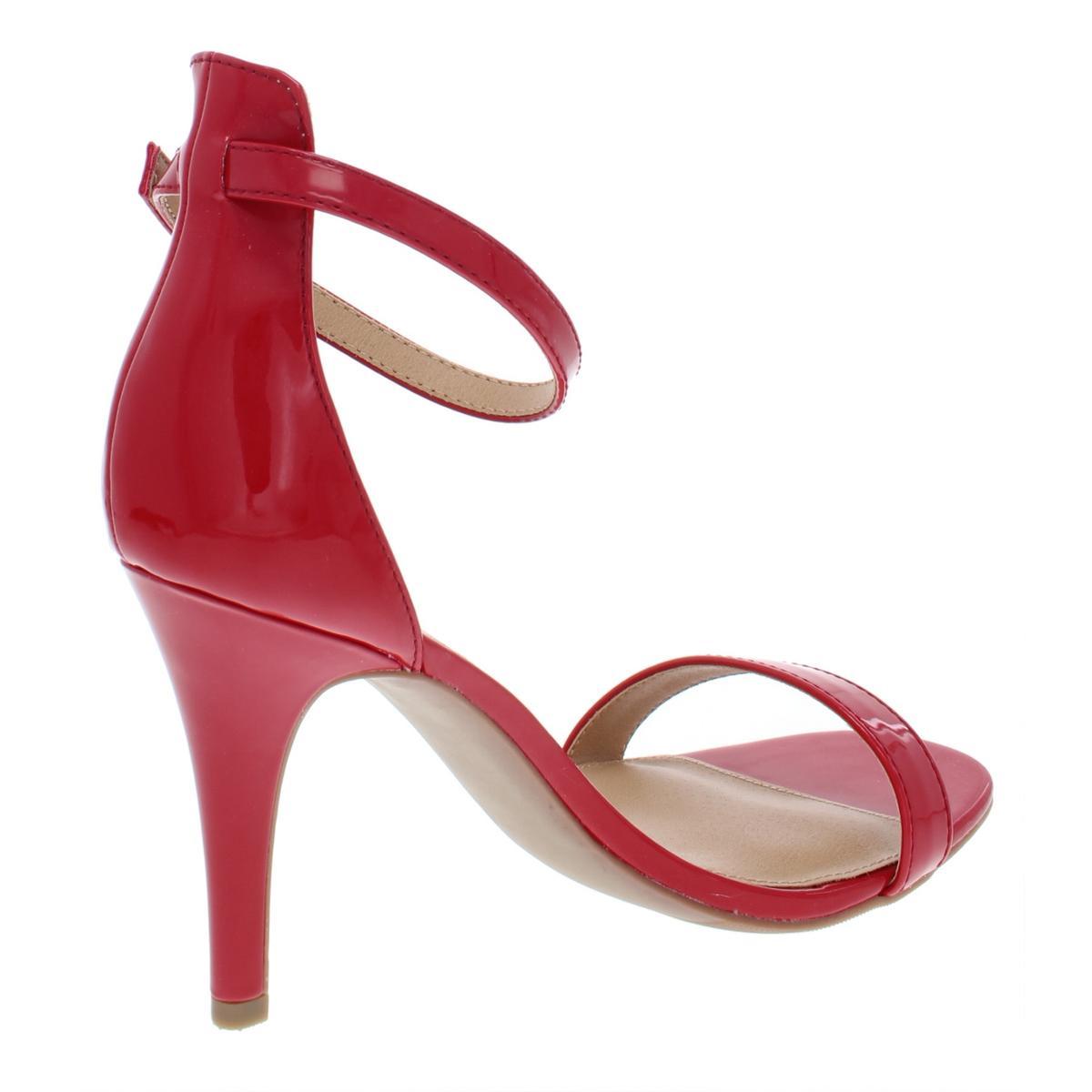 Material-Girl-Womens-Blaire-6-Patent-Mirrored-Dress-Heels-Sandals-BHFO-4127 thumbnail 6