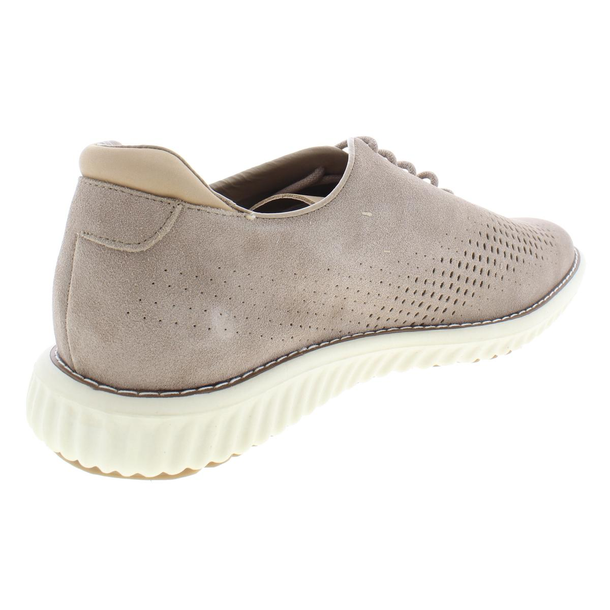 Steve-Madden-Mens-Vaelen-Suede-Perforated-Lace-Up-Oxfords-Sneakers-BHFO-9910 thumbnail 12