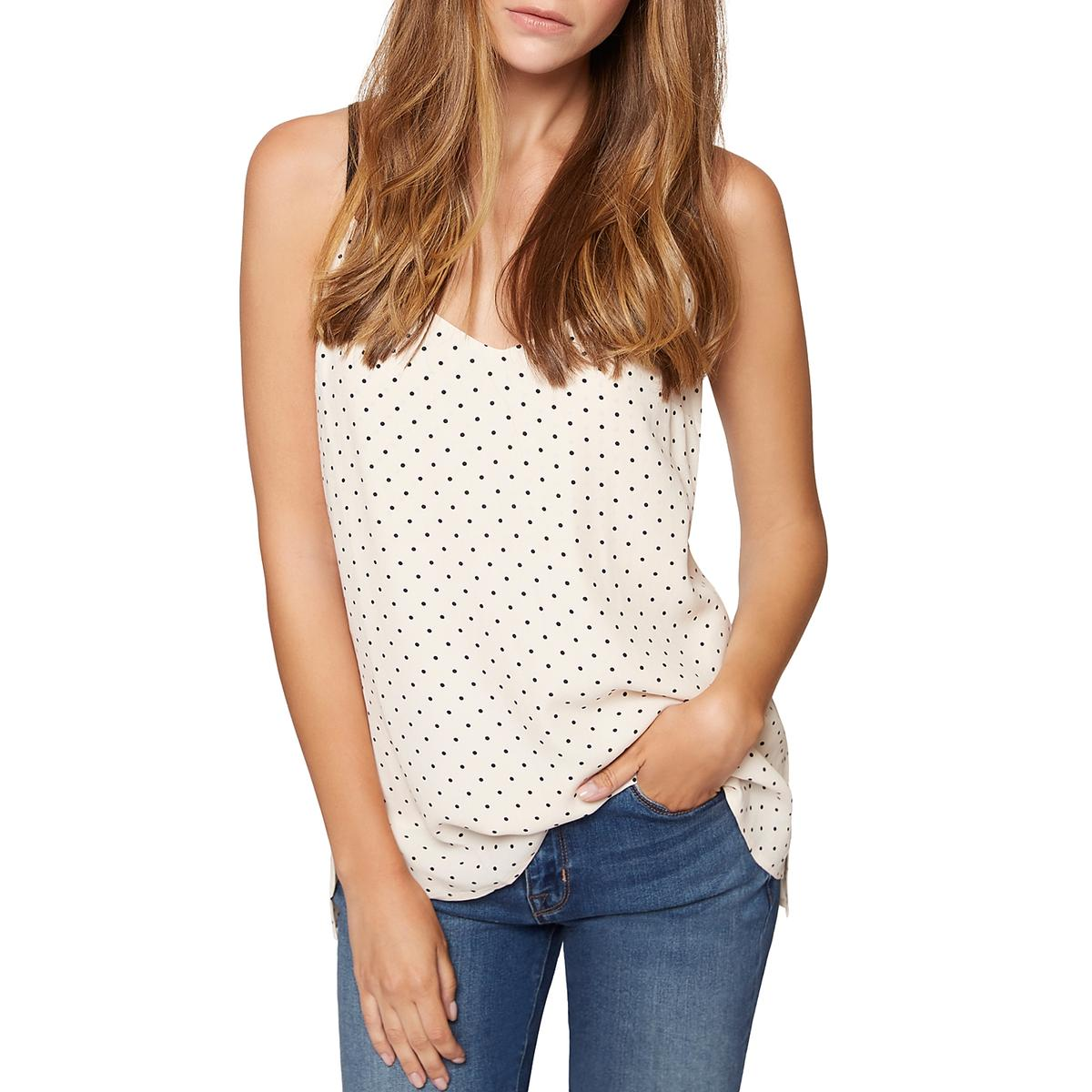 d62399dc18341 Details about Sanctuary Womens Sydney Polka Dot Tank Top Shell Cami BHFO  8499