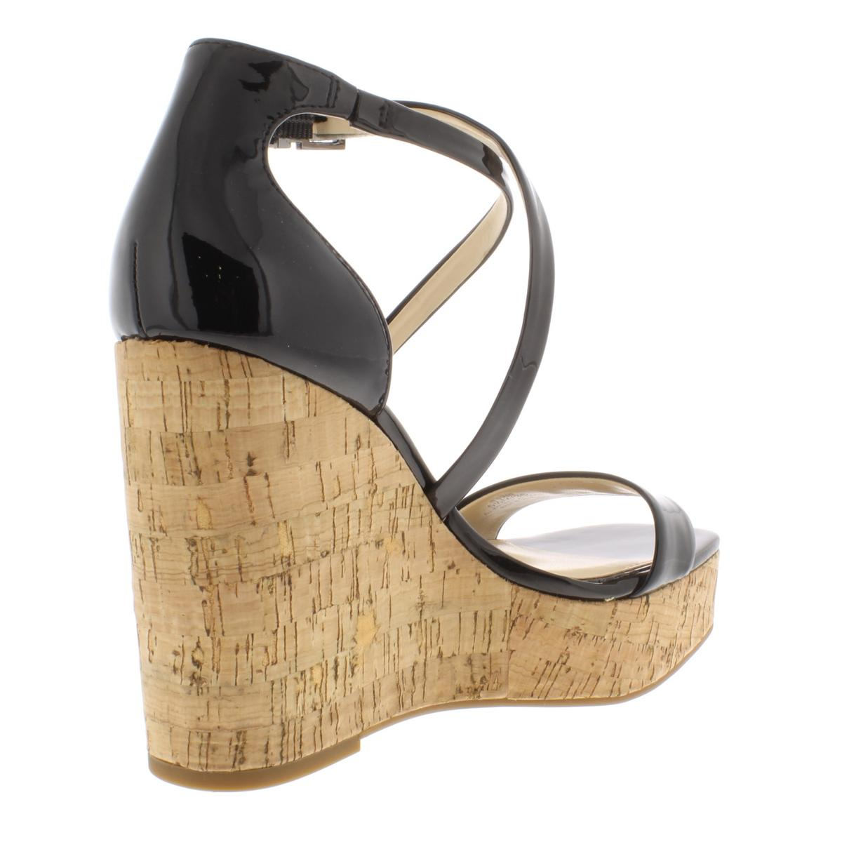 Jessica-Simpson-Womens-Stassi-Solid-Platform-Wedges-Sandals-BHFO-6733 thumbnail 6