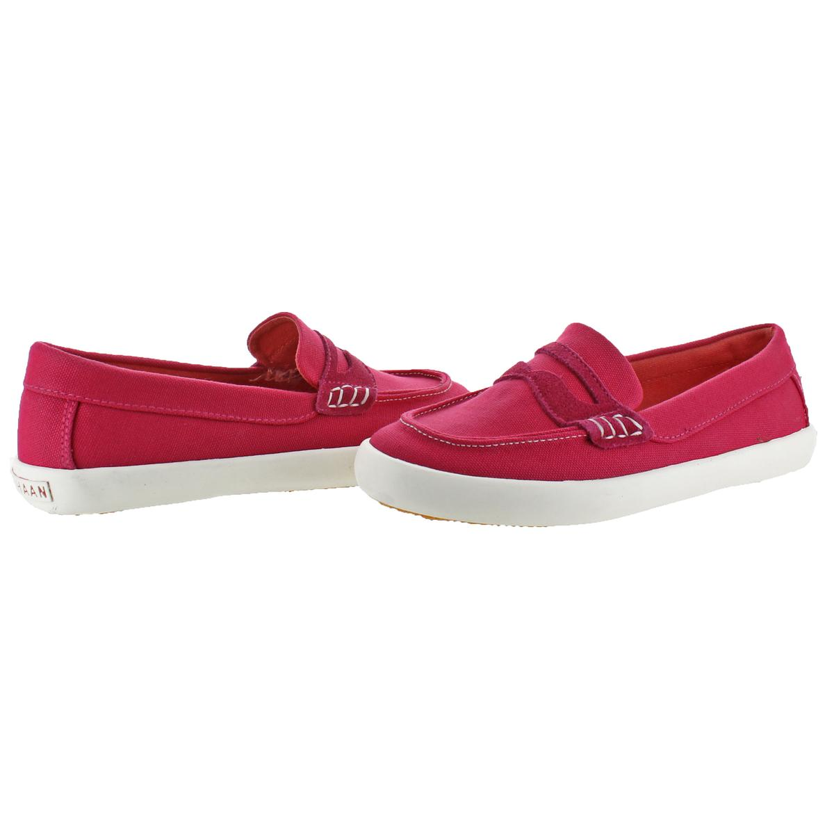 84fe7c38632 Cole Haan Pinch LTE Girls Penny Loafer Slip-On Flats Youth Low-Top ...