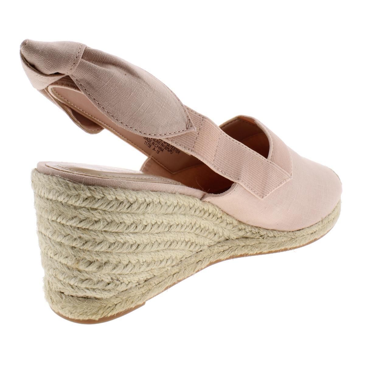 Lauren-Ralph-Lauren-Womens-Helma-Textured-Sandals-Espadrilles-Wedges-BHFO-6966 thumbnail 6