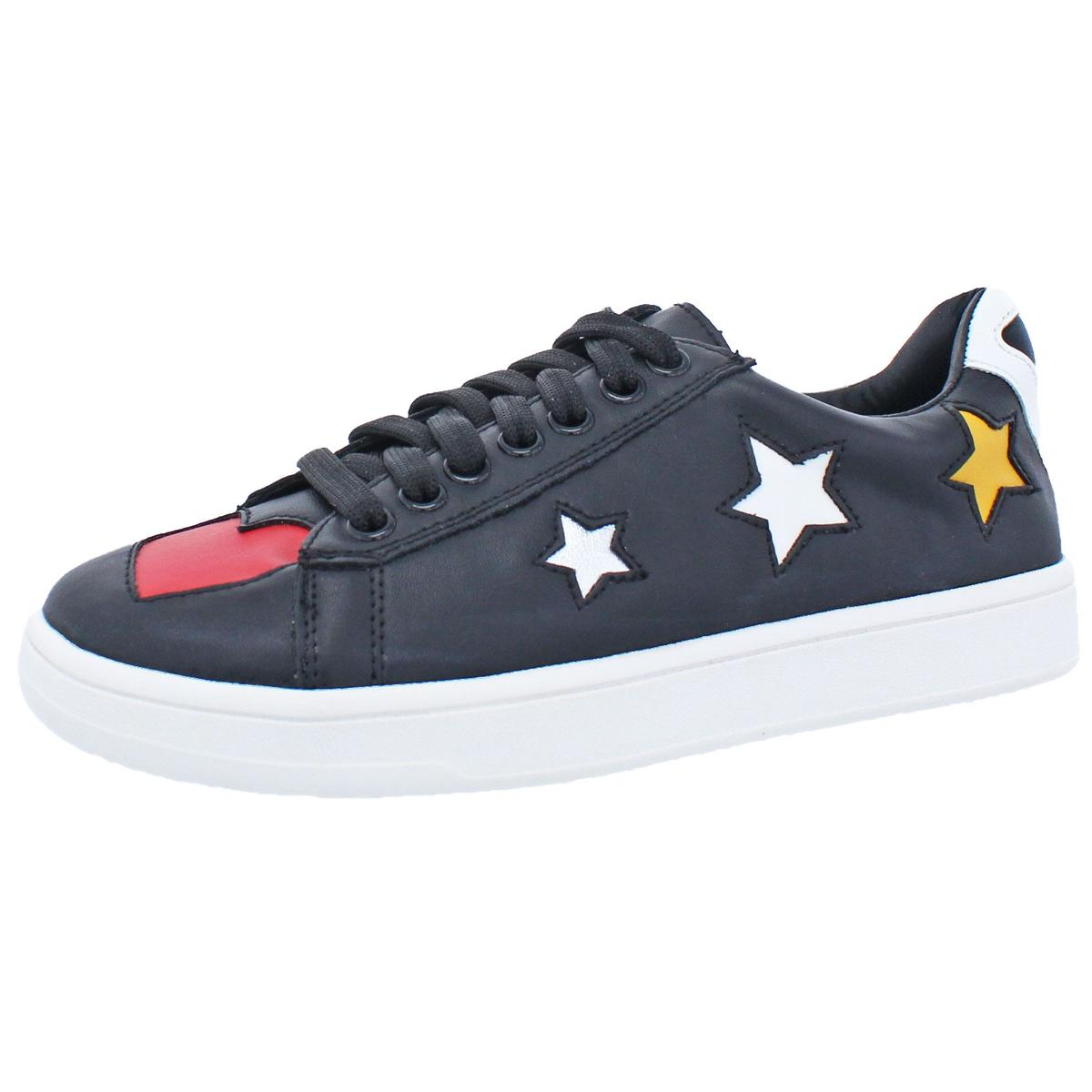 63c947c34f8 Details about Steve Madden Womens Limit Black Fashion Sneakers Shoes 9  Medium (B