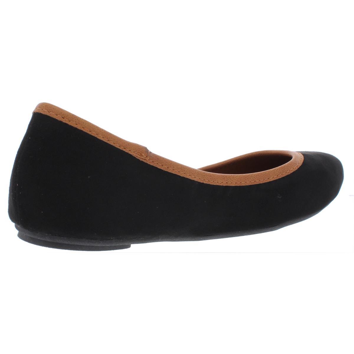 American-Rag-Womens-Cellia-Contrast-Trim-Slip-On-Ballet-Flats-Shoes-BHFO-6452 thumbnail 6