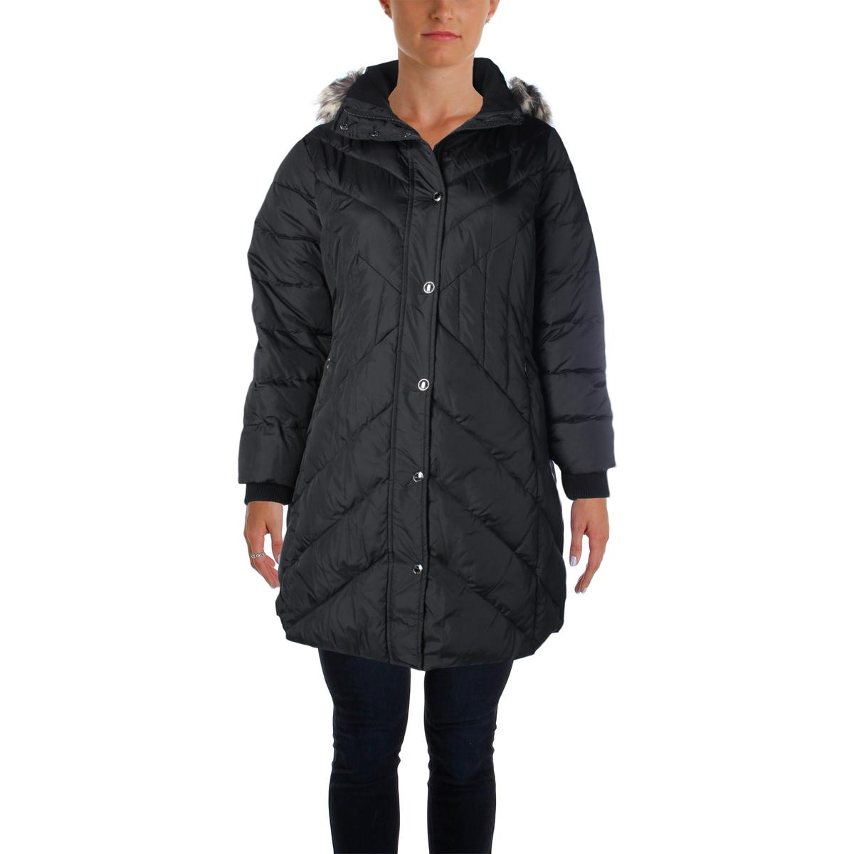 Hooded womens coats