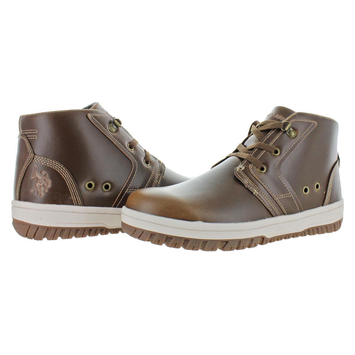 thumbnail 6 - U.S. Polo Assn. Bruno Men's Fashion Chukka Ankle Boots