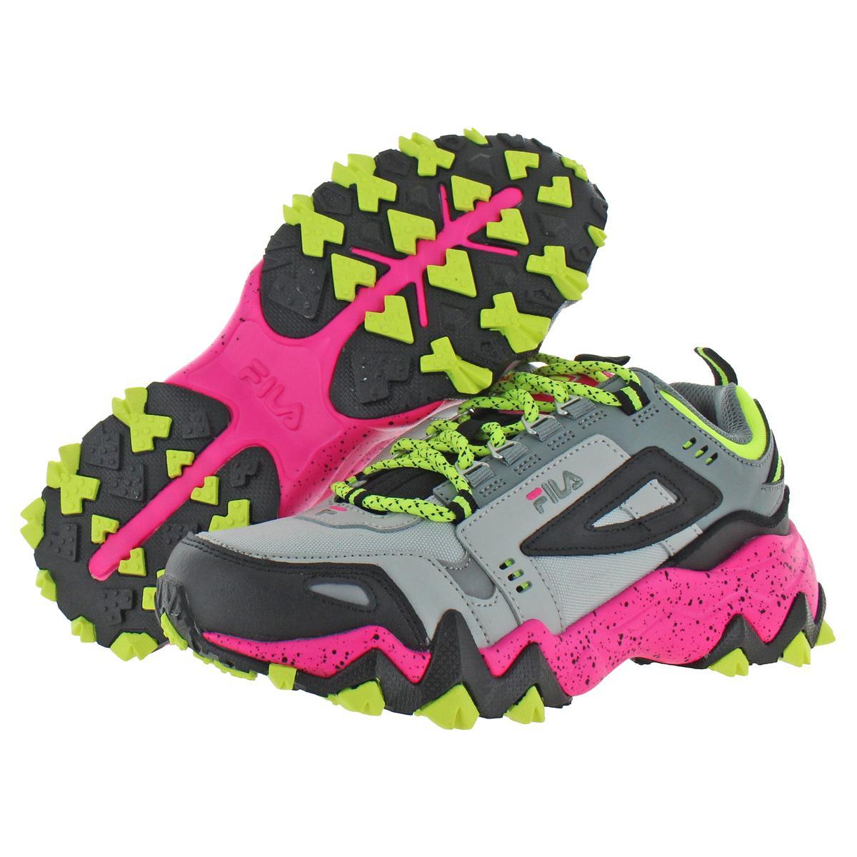 thumbnail 5 - Fila Women's Oakmont Leather Retro-Inspired Chunky Athletic Hiking Trail Sneaker
